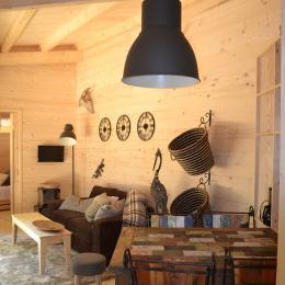 Lodge Bohème - Séjour - Location de vacances - Magné