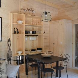 Lodge Élégance - Séjour - Location de vacances - Magné