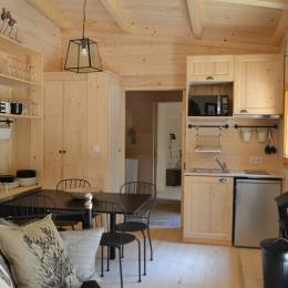 Lodge Elégance - Séjour - Location de vacances - Magné
