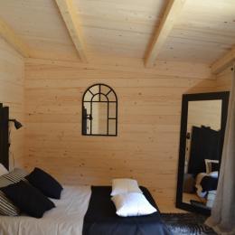 Lodge Elégance - Chambre double - Location de vacances - Magné