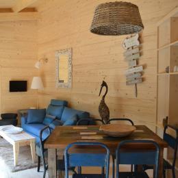 Lodge Azur - Séjour - Location de vacances - Magné