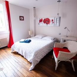 Chambre Coquelicot - Chambre d'hôtes - Poitiers