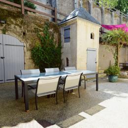 La cour intérieure - Chambre d'hôtes - Poitiers