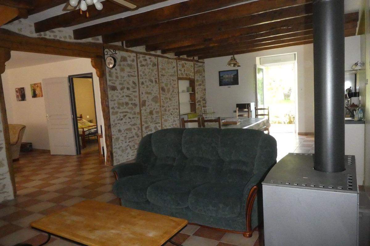 Terrasse et jardin - Location de vacances - Maisonnais-sur-Tardoire