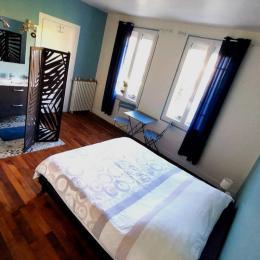 Vue d'ensemble de la chambre - Chambre d'hôtes - Saint-Junien