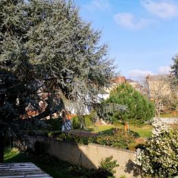 Vue sur jardin - Chambre d'hôtes - Saint-Junien