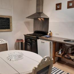 La cuisine, toutes équipe - Location de vacances - Rochechouart