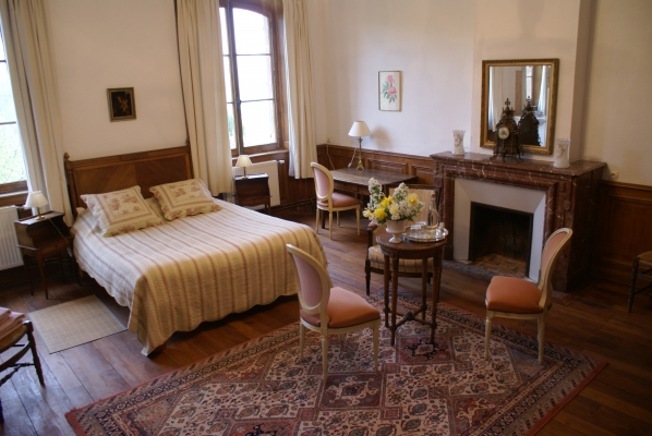 Chambre d'hôtes - Abbaye Autrey - Chambre Nymphéa - Chambre d'hôtes - Autrey
