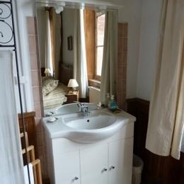 Chambre d'hôtes - Abbaye Autrey - Espace toilette - Chambre d'hôtes - Autrey