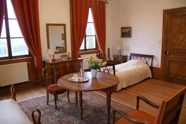 Chambre d'hôtes - Abbaye Autrey - Chambre Hydrangeas - Chambre d'hôtes - Autrey