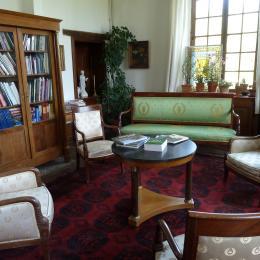 Chambre d'hôtes - Abbaye Autrey - Salon lecture - Chambre d'hôtes - Autrey