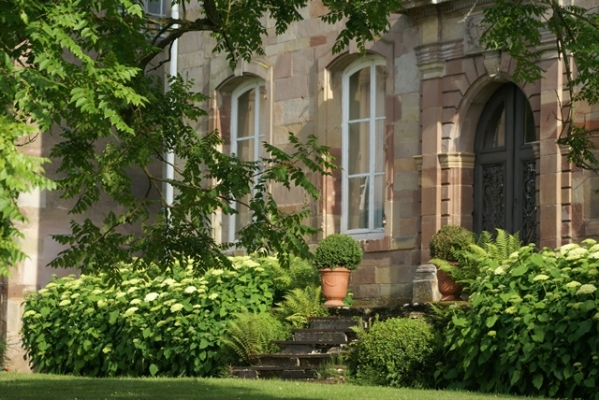 Chambre d'hôtes - Abbaye Autrey - Côté cour - Chambre d'hôtes - Autrey