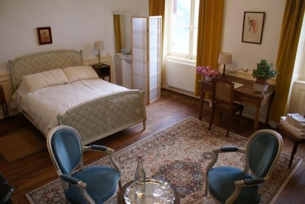 Chambre d'hôtes - Abbaye Autrey - Chambre Roséa - Chambre d'hôtes - Autrey