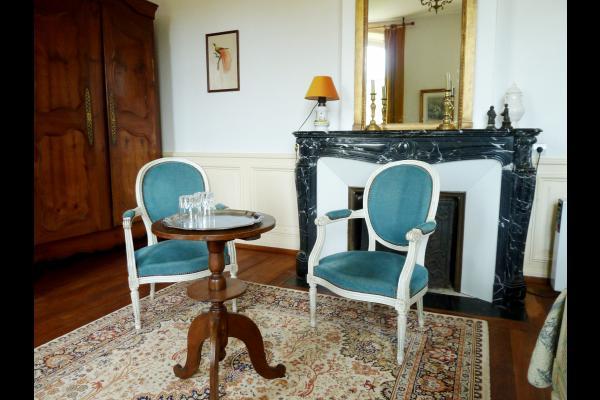Chambre d'hôtes - Abbaye Autrey - Espace salon - Chambre d'hôtes - Autrey