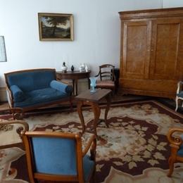 Chambre d'hôtes - Abbaye Autrey - Salon Télévision - Chambre d'hôtes - Autrey