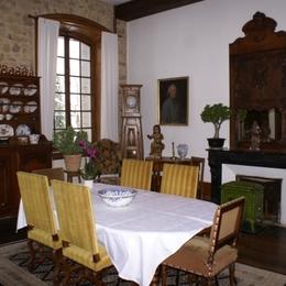 Chambre d'hôtes - Abbaye Autrey - Salle Petit Déjeuner - Chambre d'hôtes - Autrey