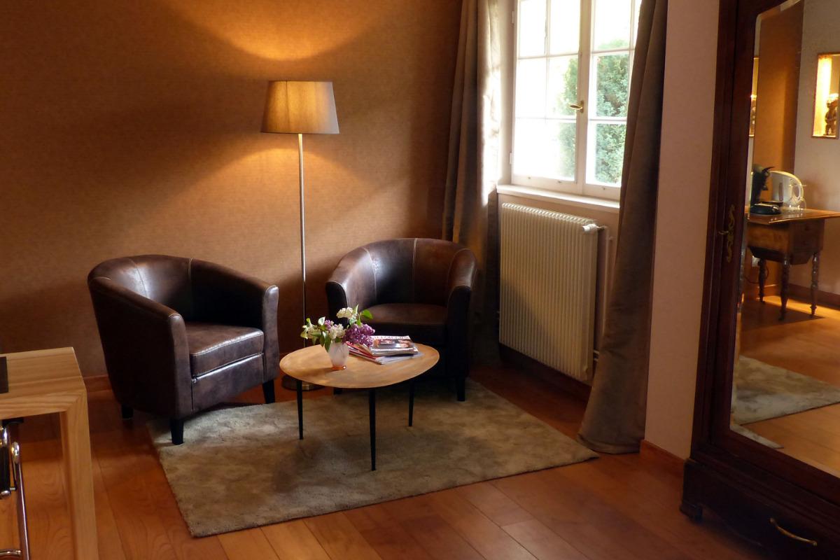 Salon dans la chambre - Chambre d'hôtes - Saint-Dié-des-Vosges