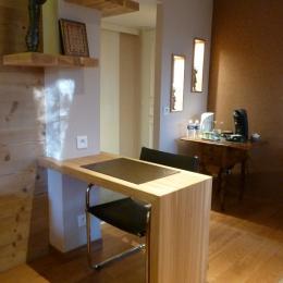 Espace bureau courtoisie - Chambre d'hôtes - Saint-Dié-des-Vosges