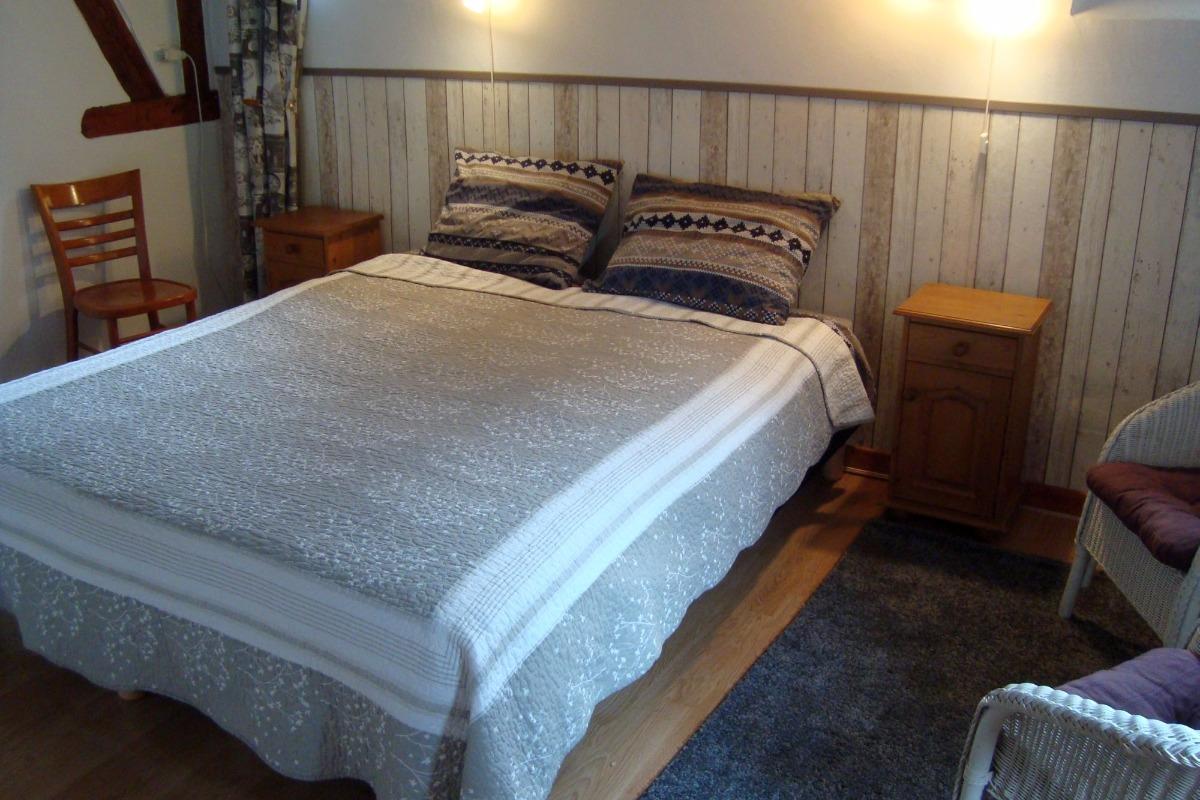 chambre le soleil (possibilite d'une lit double sur demande) - Chambre d'hôtes - Ban-sur-Meurthe-Clefcy