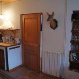 coin cuisine, Bellevue, Vosges - Chambre d'hôtes - Ban-sur-Meurthe-Clefcy