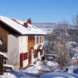chambres dhotes Bellevue en hiver, Vosges - Chambre d'hôtes - Ban-sur-Meurthe-Clefcy