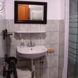 salle de bains, la Lune, Bellevue, Vosges - Chambre d'hôtes - Ban-sur-Meurthe-Clefcy
