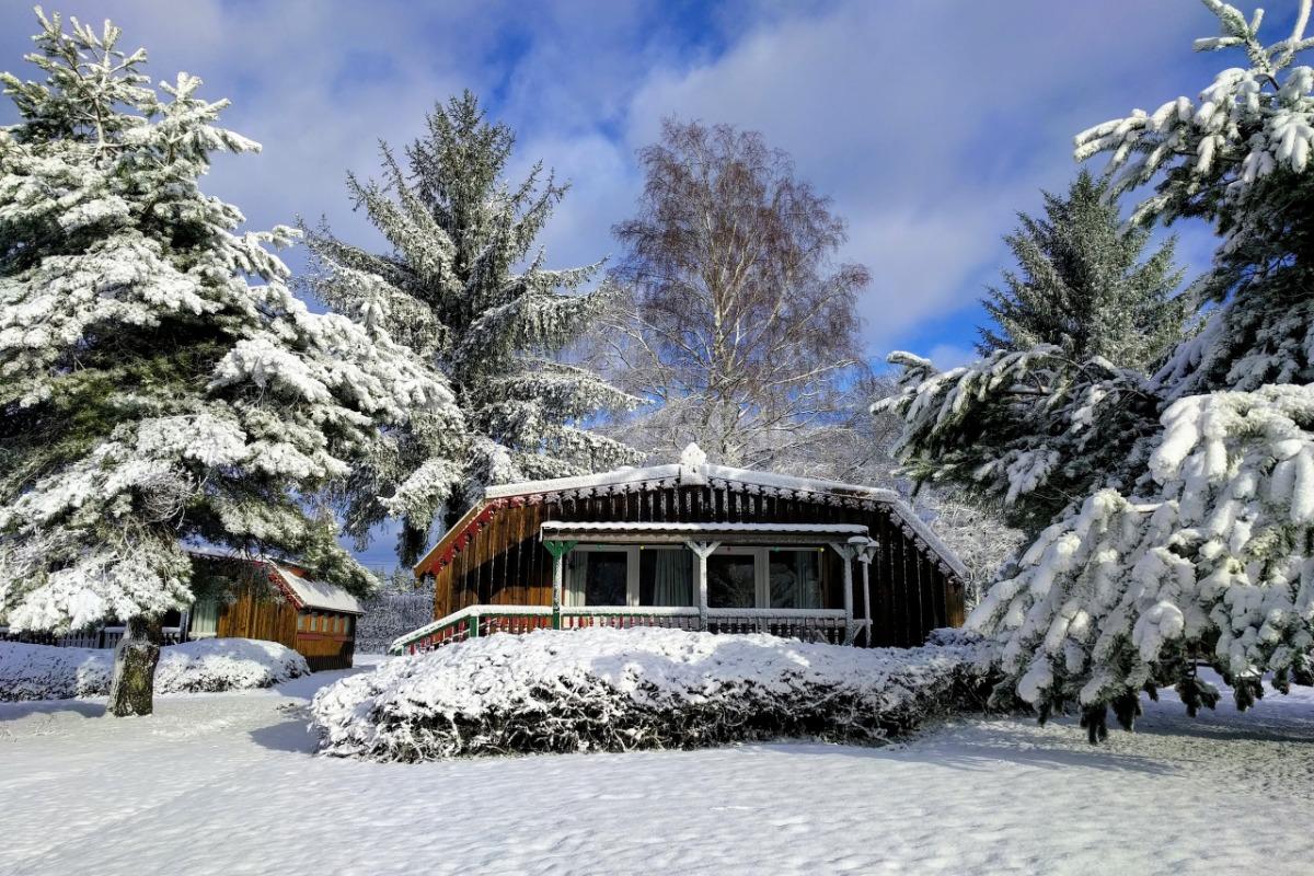 Gite des 3 Hêtres en hiver - Location de vacances - Plombières-les-Bains