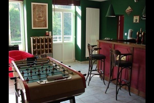 Espace bar - Location de vacances - Claudon