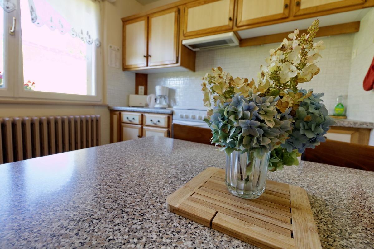 Vue depuis la chambre - Location de vacances - La Bresse