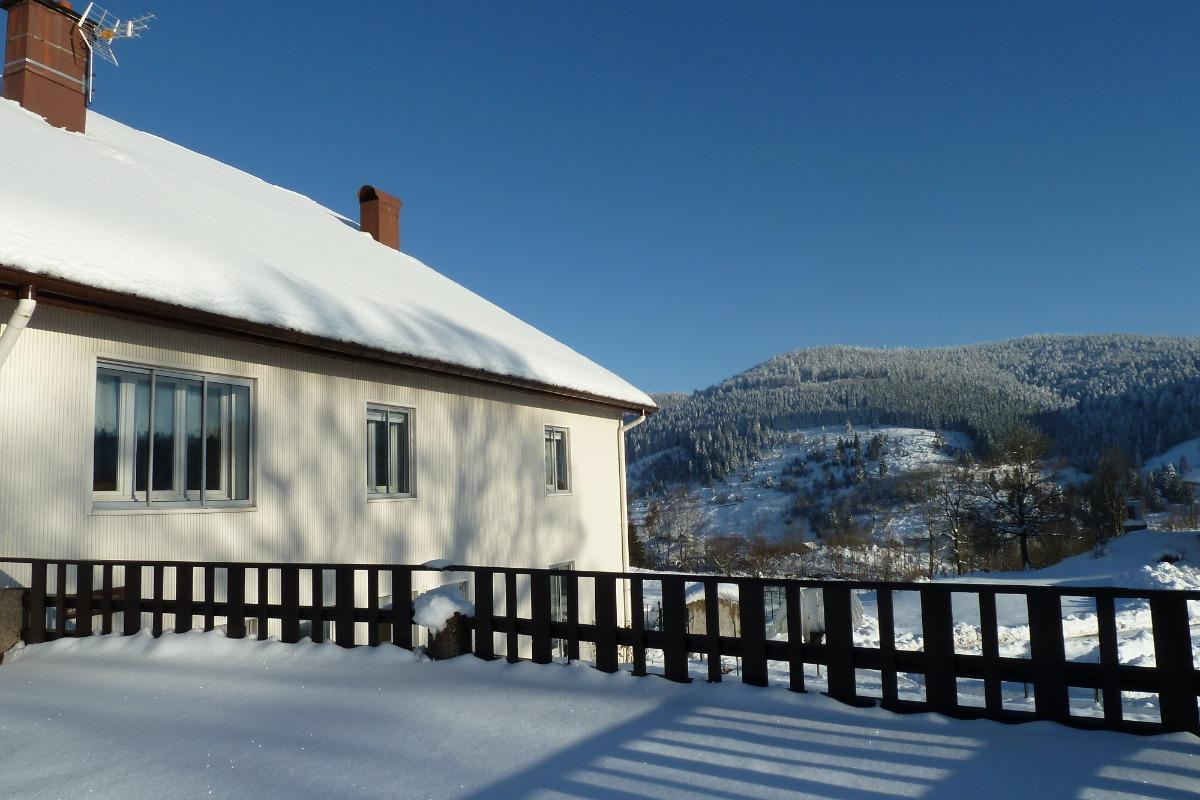Le domaine sous la neige - Location de vacances - La Bresse