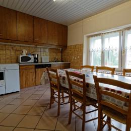 Salon télévision - Location de vacances - La Bresse