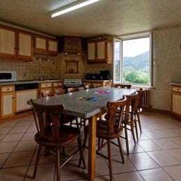 Salle commune - Location de vacances - La Bresse
