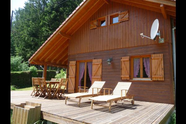 terrasse - Location de vacances - Les Rouges-Eaux