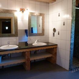 Salle d'eau RDC - Chalet Heïdi Ventron Vosges - Location de vacances - Ventron
