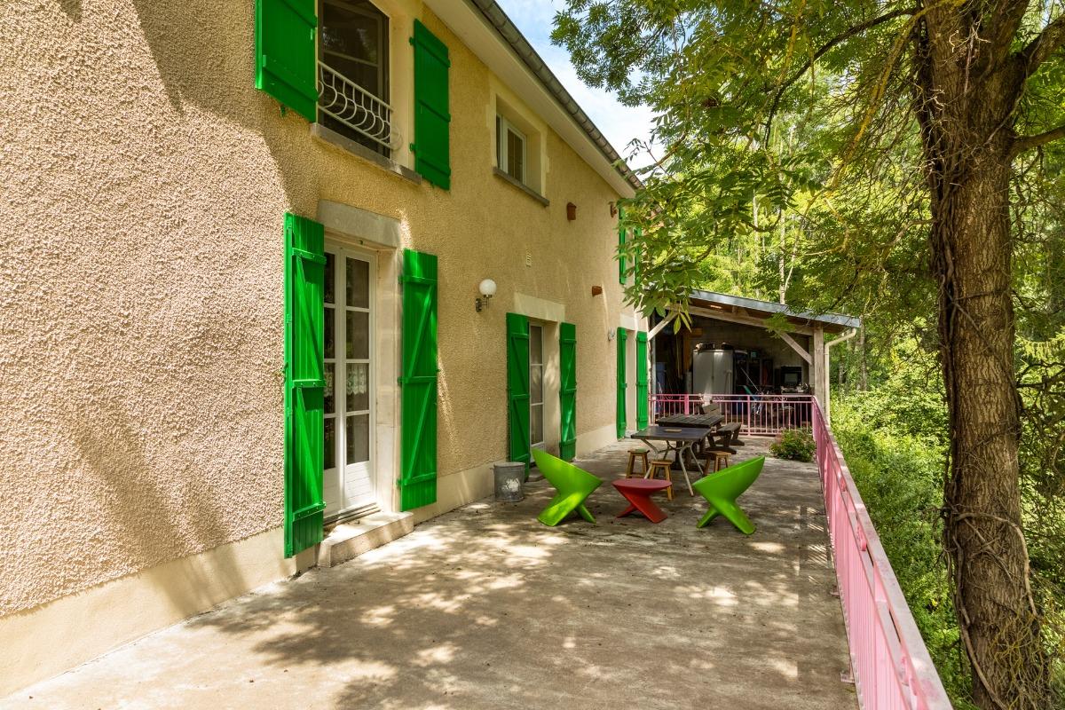 Chambre avec lit double et lit simple - Chambre d'hôtes - Soulosse-sous-Saint-Élophe