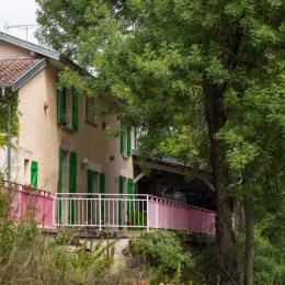 Grande terrasse et jardin - Chambre d'hôtes - Soulosse-sous-Saint-Élophe