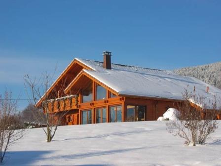Chambres d'hôtes l'Epinette bien exposé sous la neige - Chambre d'hôtes - Gérardmer
