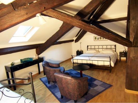 Chambre Mésange - Villa Mon Coeur - Chambre d'hôtes - Remiremont