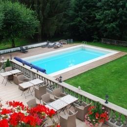 Vue depuis le balcon - Villa Mon Coeur - Chambre d'hôtes - Remiremont