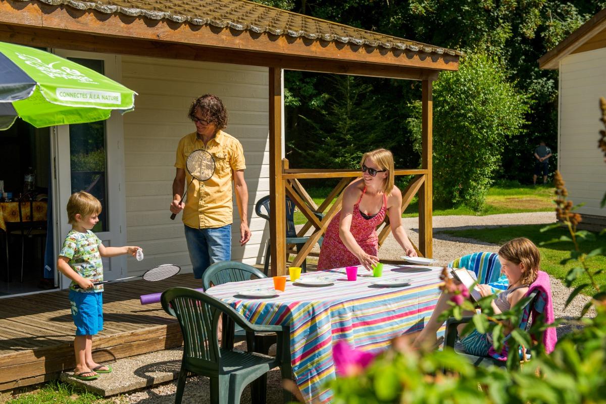 Chalet Cosy Camping Sites et Paysages au Clos de la Chaume - Location de vacances - Corcieux