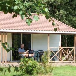 Chalet 32 m² avec terrasse bois2/6 pers. - Location de vacances - Corcieux