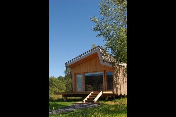 Vue terrasse entrée - Location de vacances - Celles-sur-Plaine