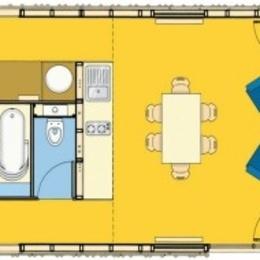 Plan du gîte - Location de vacances - Celles-sur-Plaine