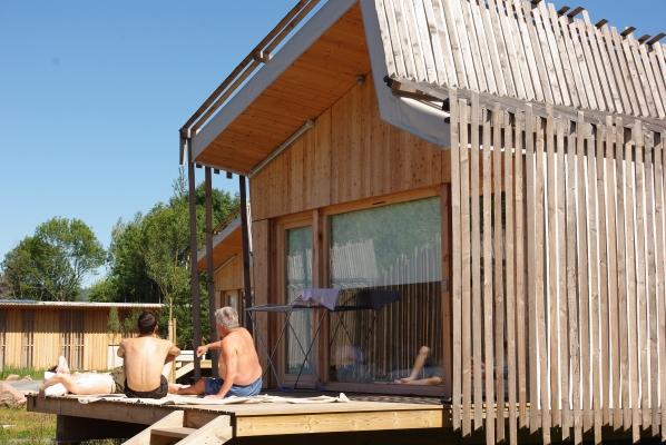 Terrasse été  - Location de vacances - Celles-sur-Plaine