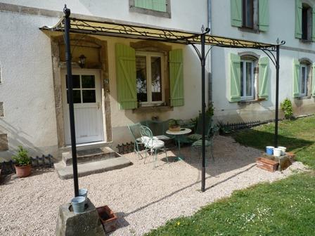 Terrasse Cottage de la Manufacture Royale de Bains - Location de vacances - Bains-les-Bains