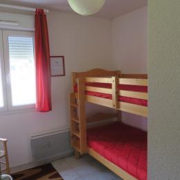 Chambre 1, 2 lits côte à côte de 90X200  - Location de vacances - Gérardmer