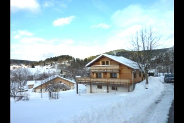 Chalets les Ruisseaux sous la neige - Location de vacances - Gérardmer