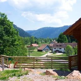 Vue vallée de Longemer et crêtes Vosgiennes - Location de vacances - Xonrupt-Longemer