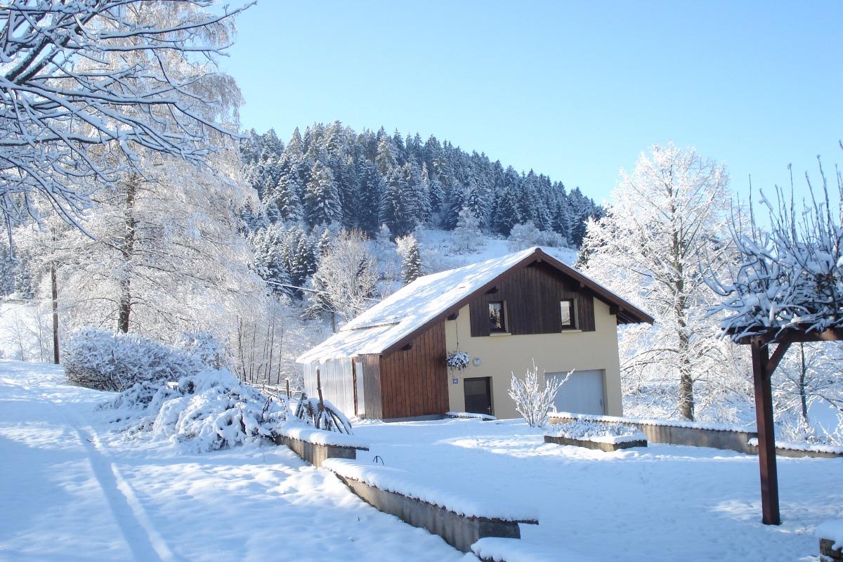 La maison en hiver - Location de vacances - Basse-sur-le-Rupt