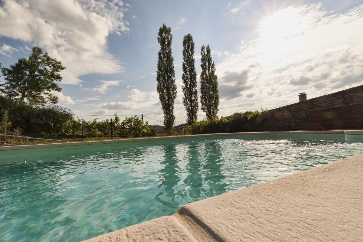 LA PISCINE DANS LE POTAGER de la Manufacture Royale de Bains - Location de vacances - Bains-les-Bains